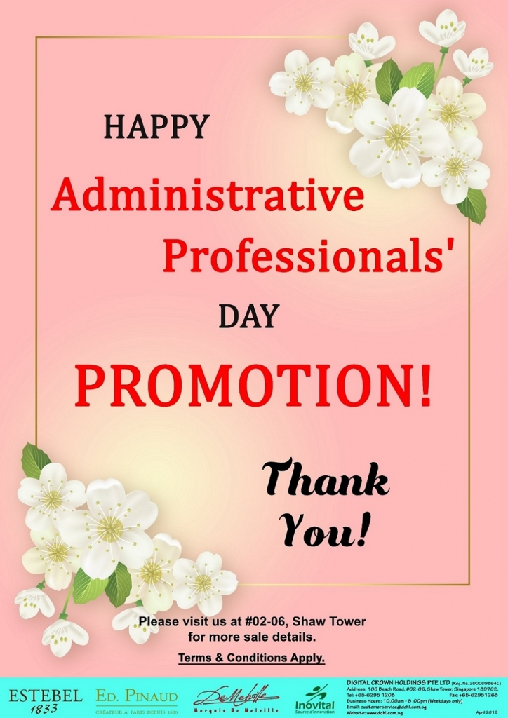 1. Administrative Professionals' Day '19