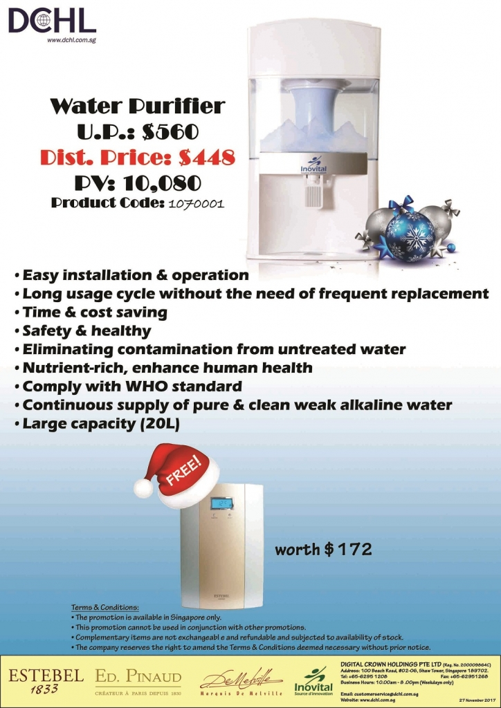3. Water Purifier