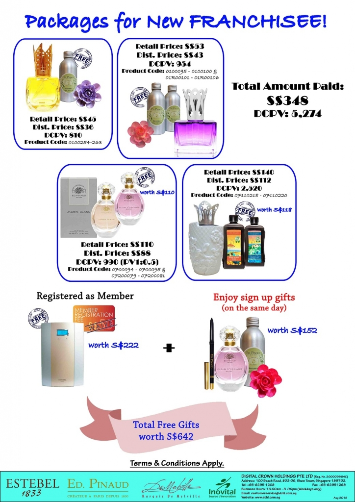 3.New Franchisee Diffuser Free Refill