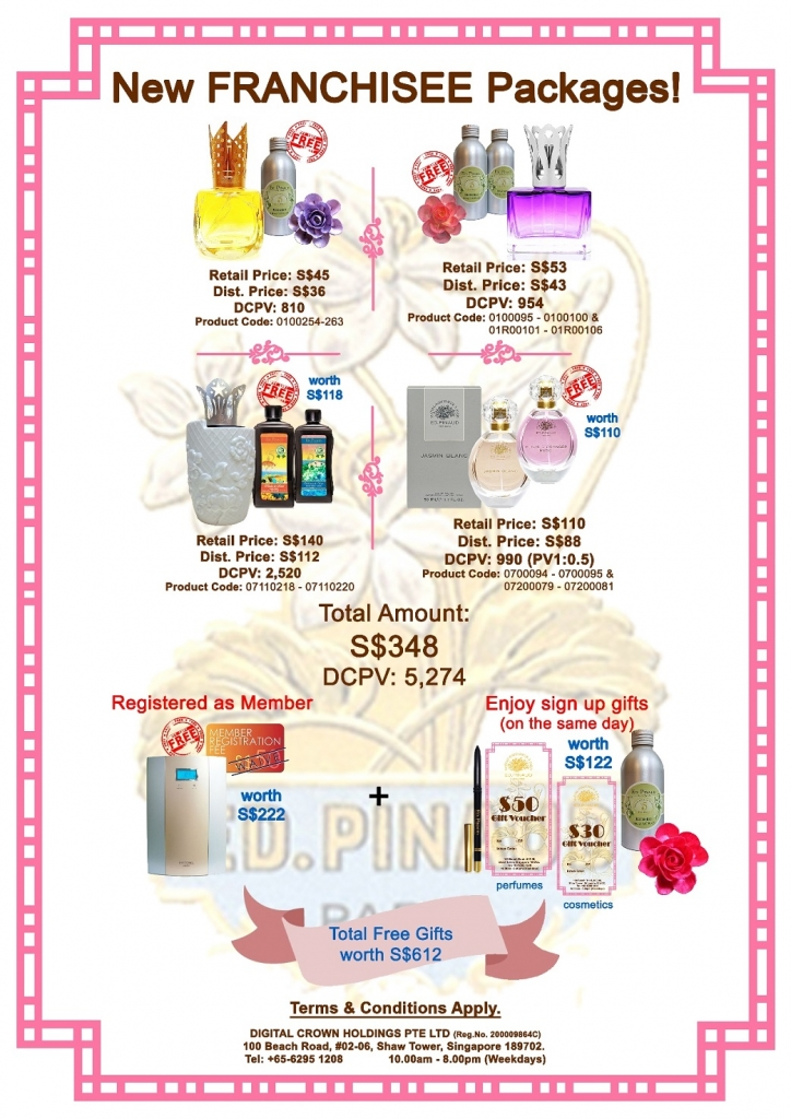 3.New Franchisee Diffuser Free Refill v3