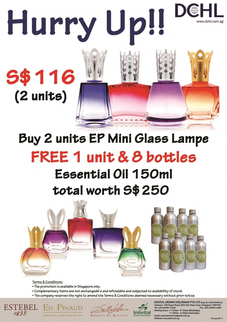 5. Buy 2 Diffuser Free 1 & 8 Refill