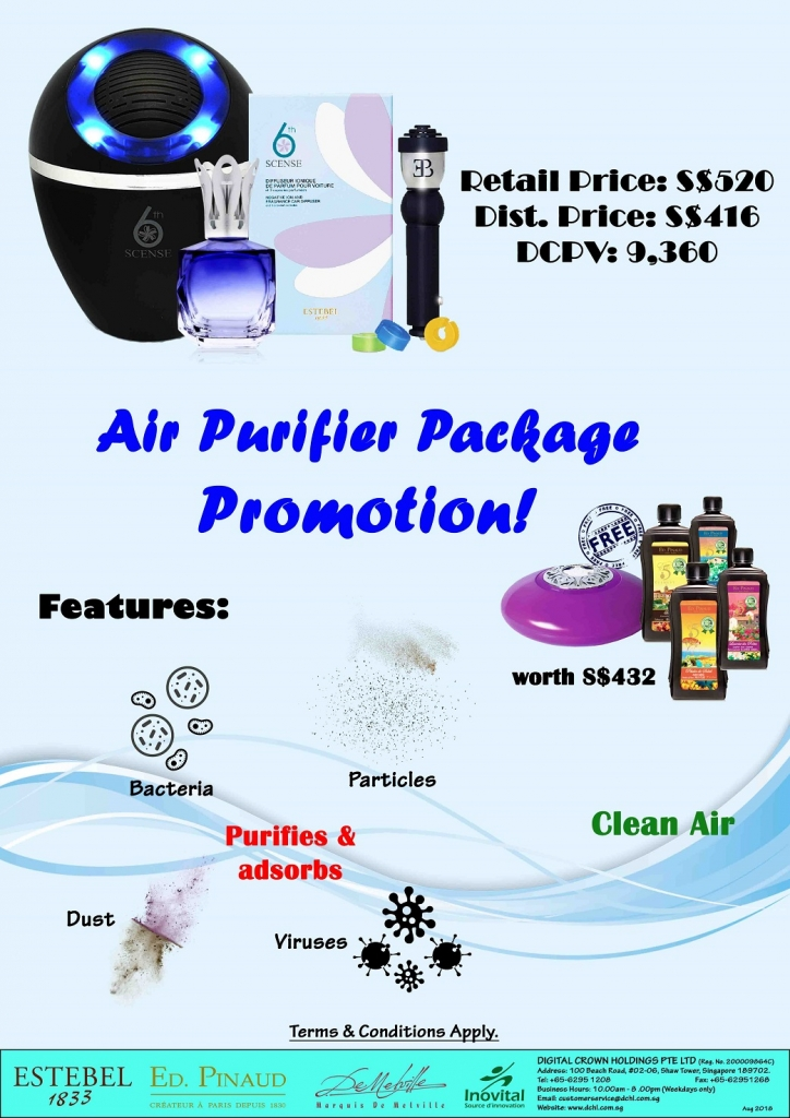 5.Air Purifier