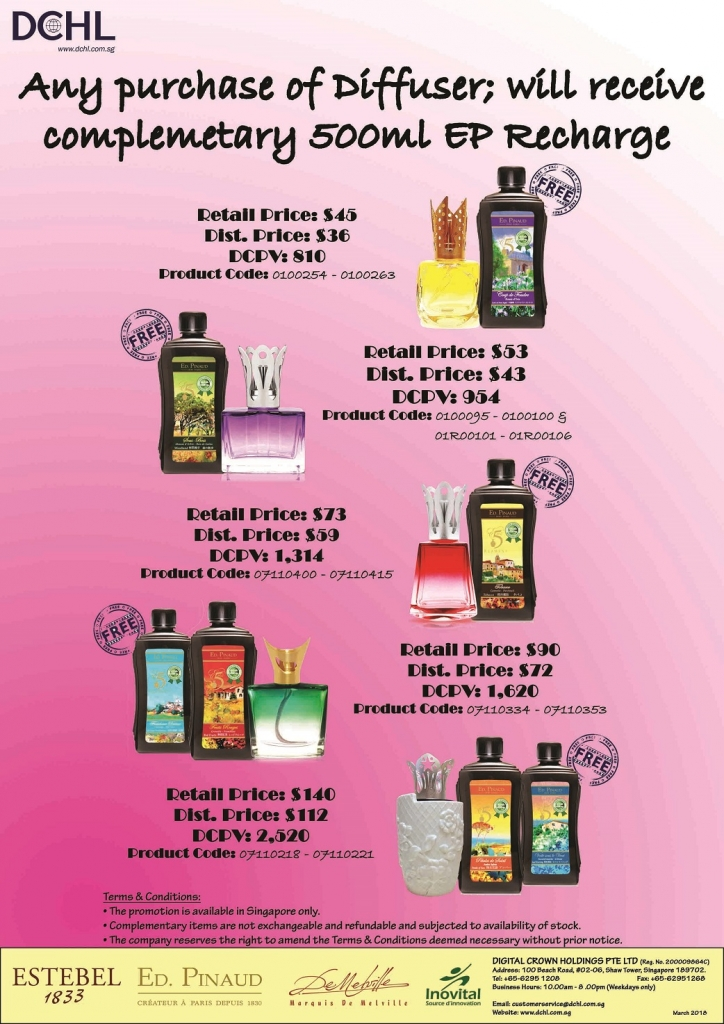 5.Buy Diffuser Free Refill