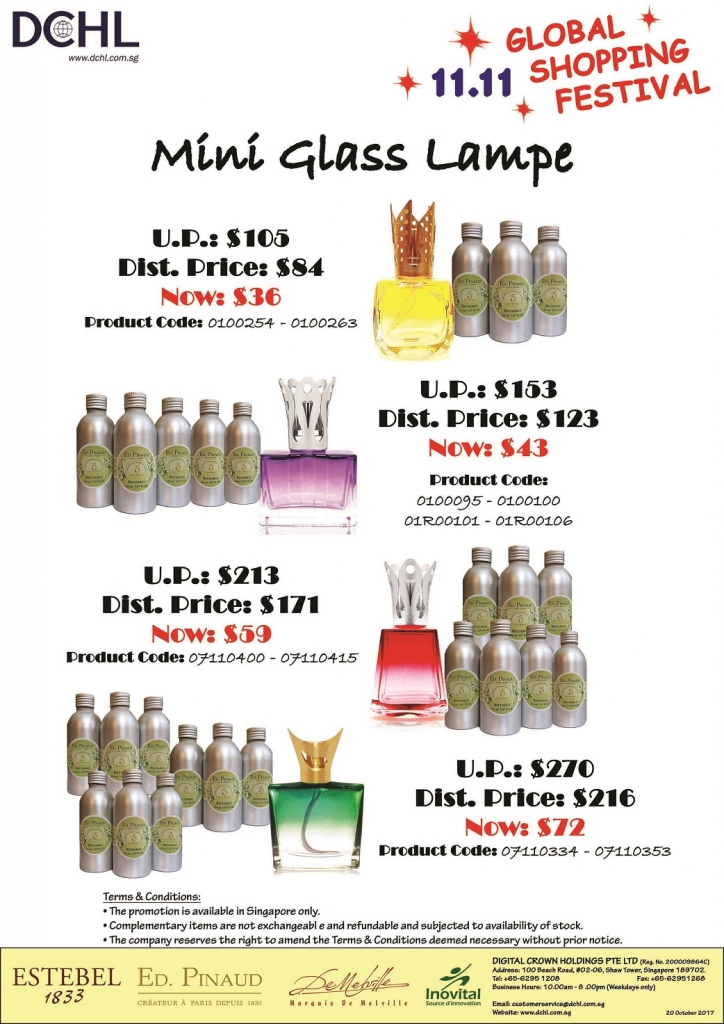 6. Buy 2 Diffuser Free 1 & 8 Refill