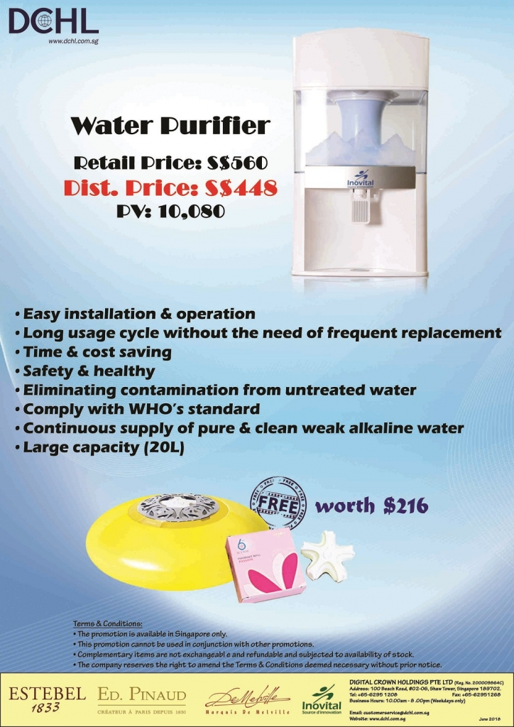 6.Water Purifier