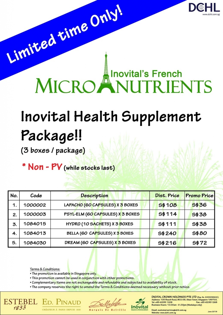 7.Inovital Packages