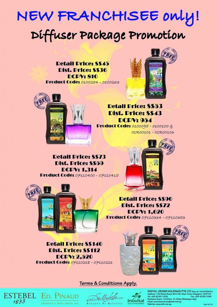 8.Buy Diffuser Free Refill