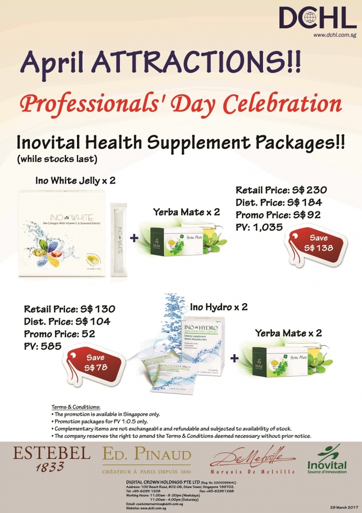 Inovital Packages