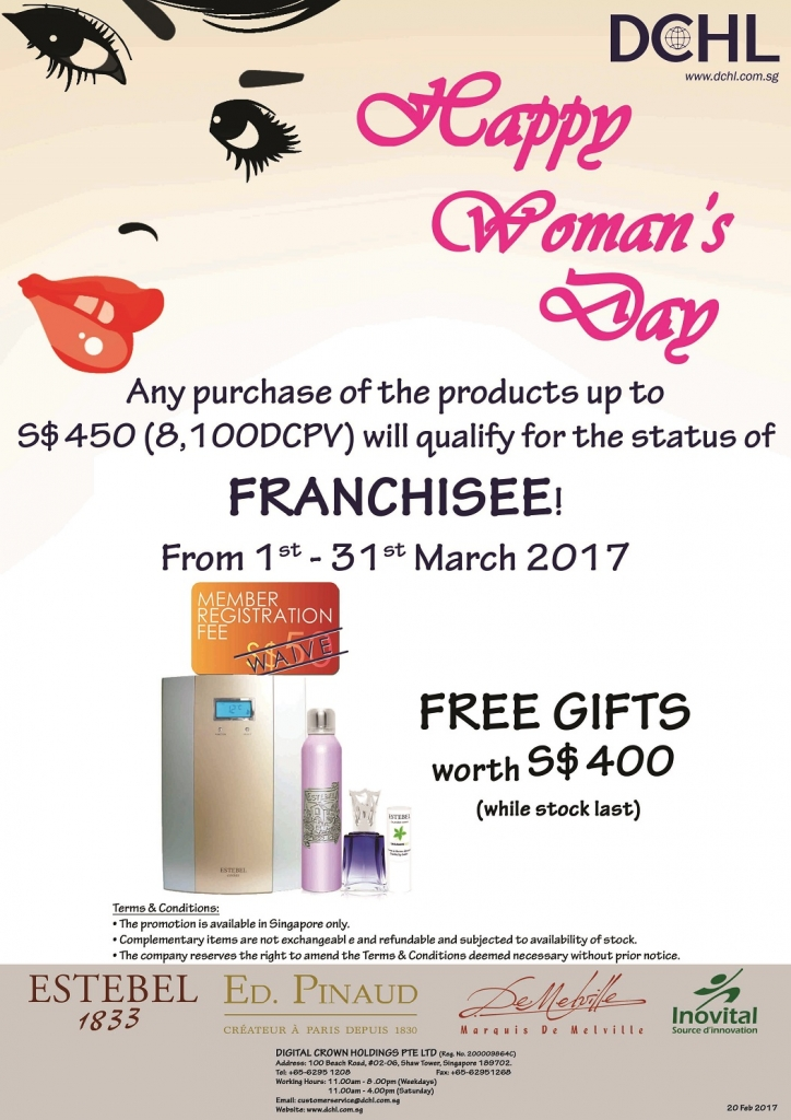 March Promotion - Franchisee Stock