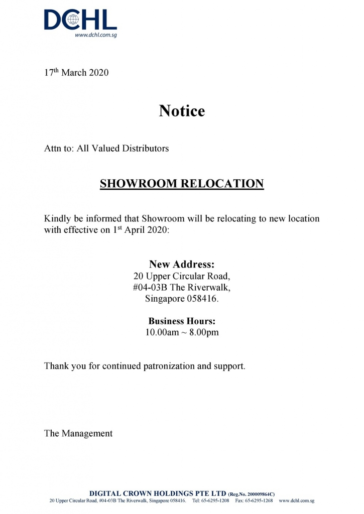 Notice - Showroom Relocation-page-001